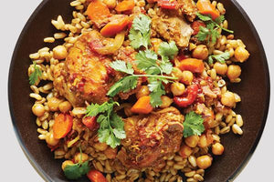 "<span class=""orange"">*NEW*</span> Moroccan Chicken (GF 