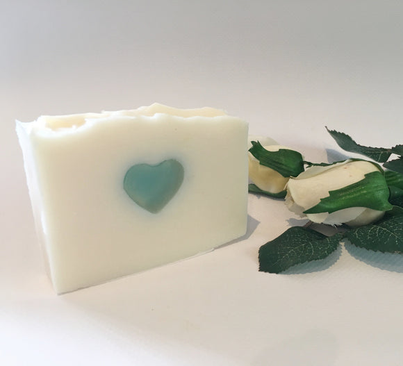 Lime and Sandalwood handmade soap