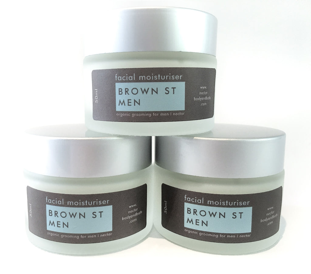 BROWN ST MEN Facial Moisturiser 50g
