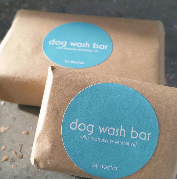 Natural Dog Wash Bar with Manuka Essential Oil 60g