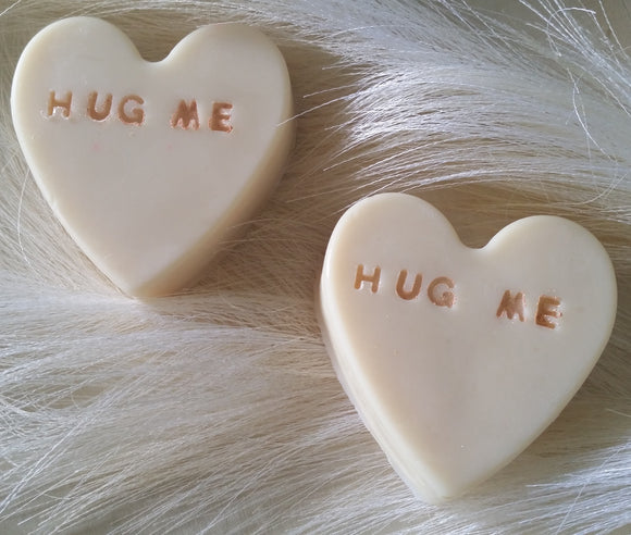 Hug Me Limited Edition Heart soaps