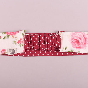 White Floral Eve Hair Band