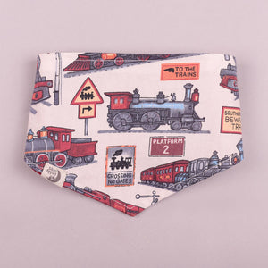 James the Train Bandana Bib