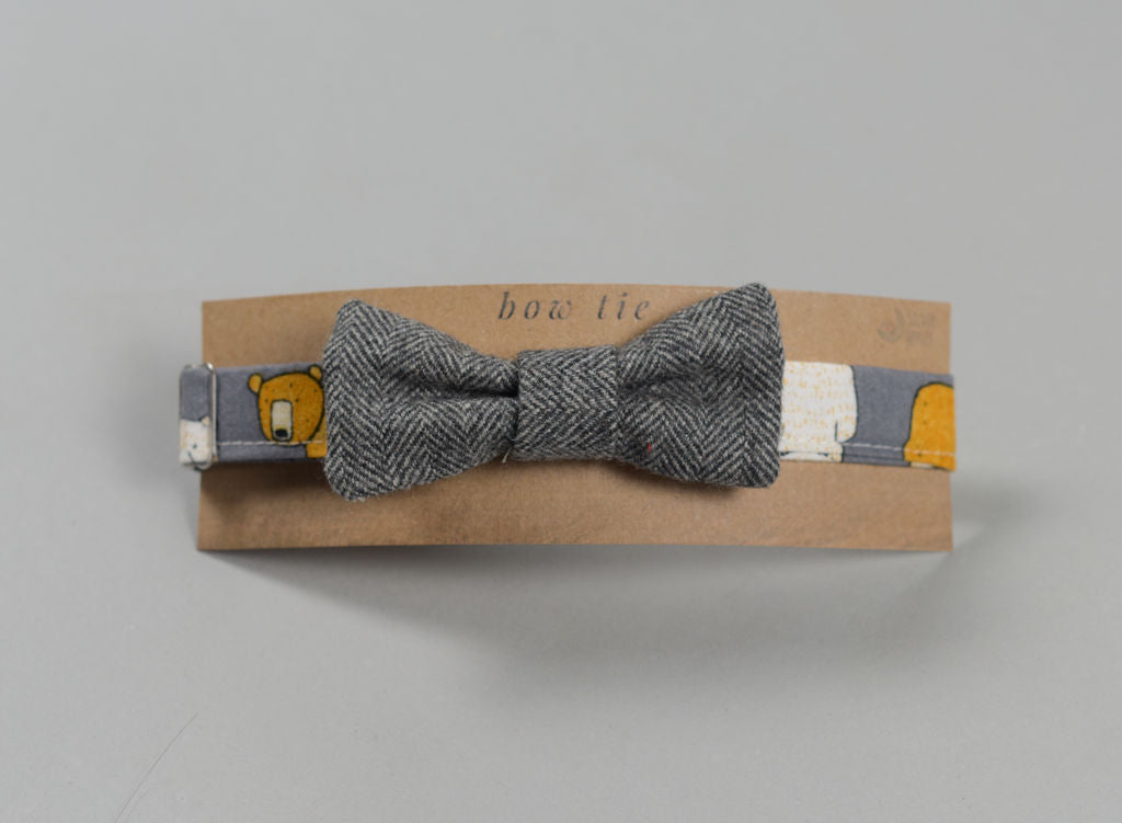 Grey Magee Donegal Tweed Bow Tie