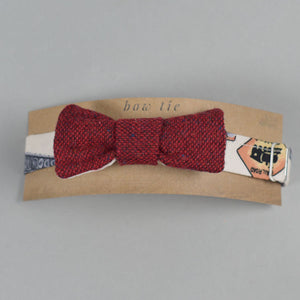 Red Magee Donegal Tweed Bow Tie