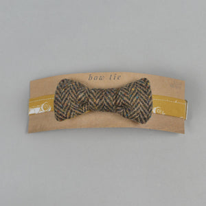 Brown Magee Donegal Tweed Bow Tie