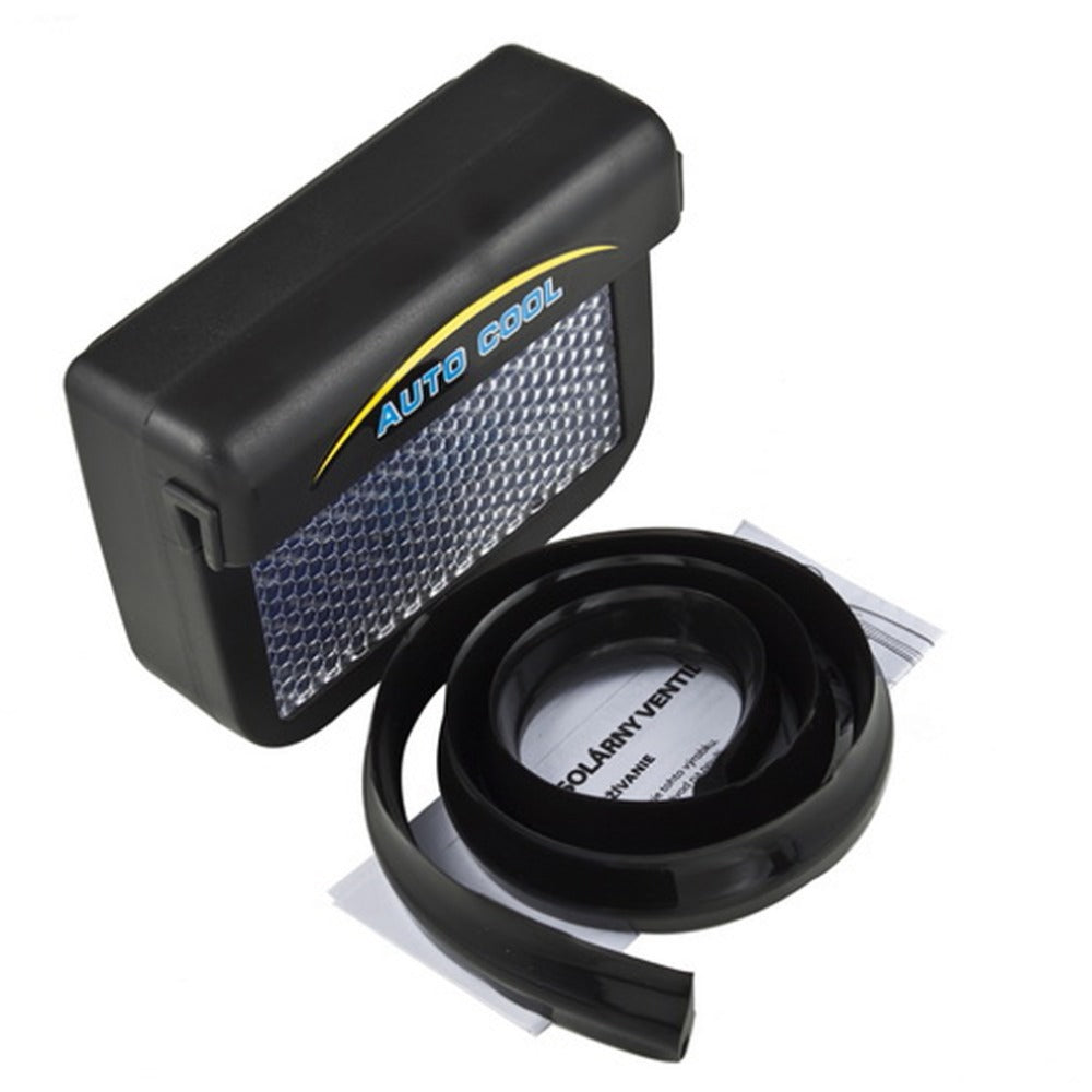 Car Fan Auto Air Vent Cooling System Solar Power High Quality Cool Dailyfastdeal