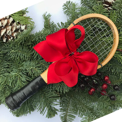Tennis Racquet Ornament