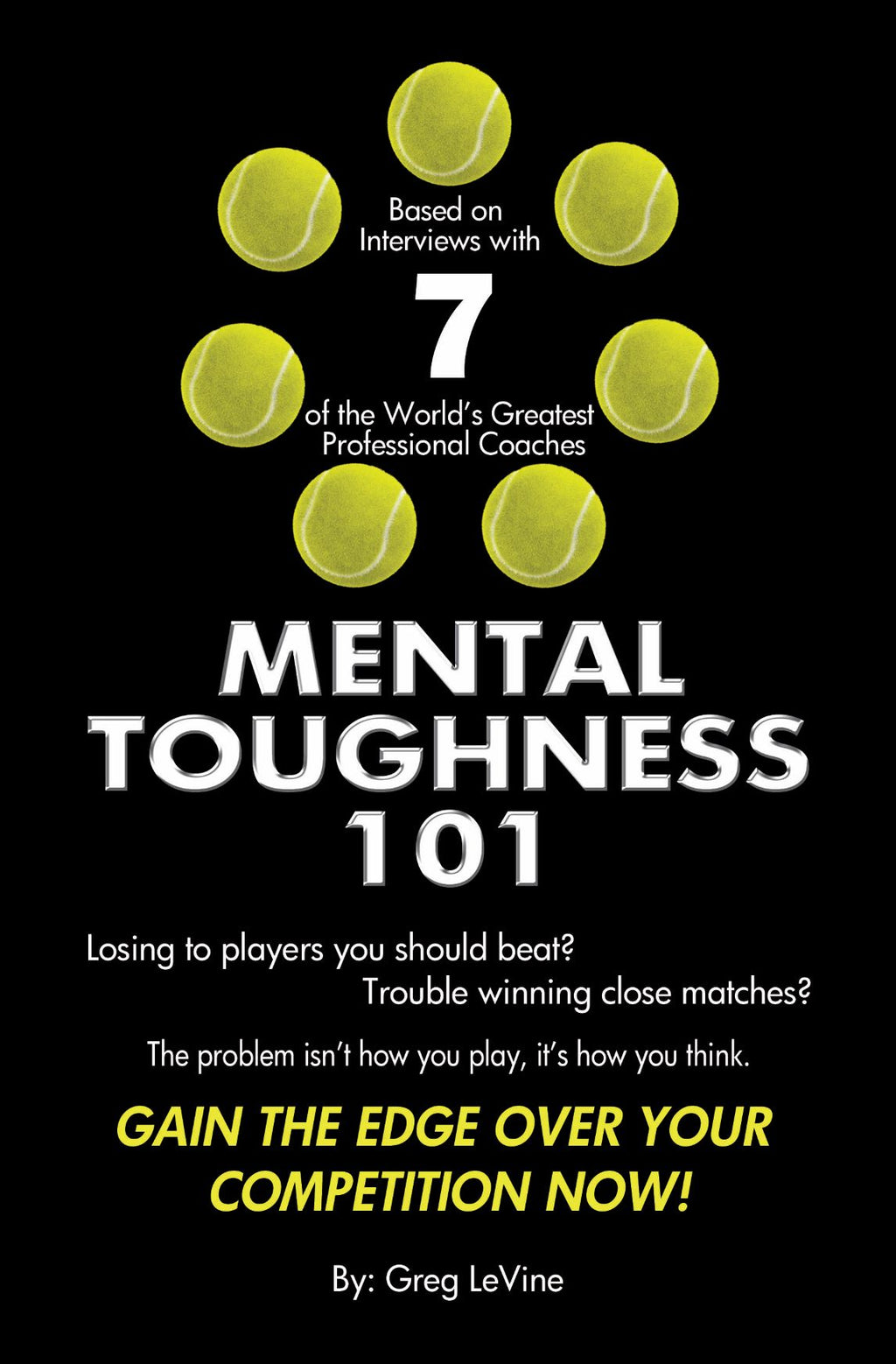 Mental Toughness 101 - Tennis Book