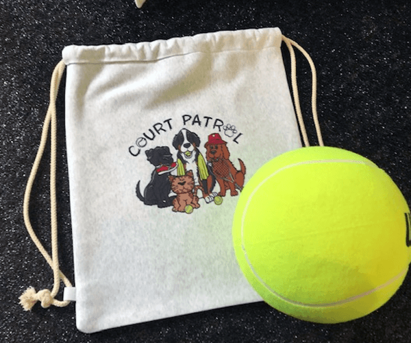 Court Patrol Cinch Sack