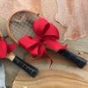 Mini Racquet Ornament with Bow