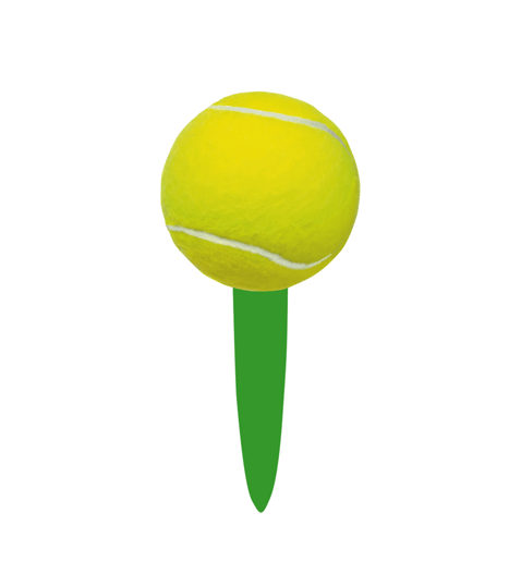 Tennis Ball Party Picks