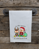 Holiday Pickleball Kitchen Towel