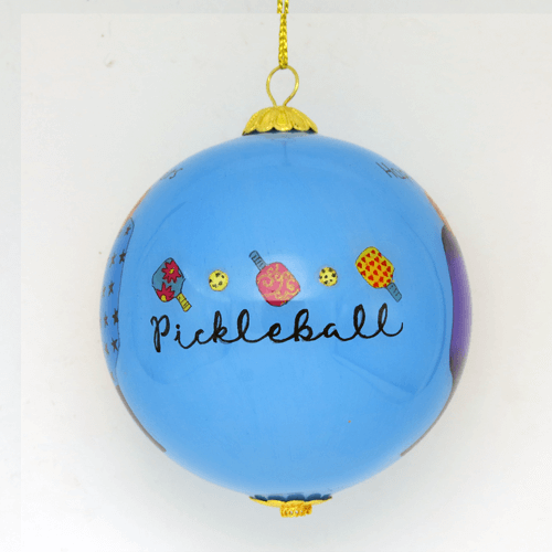2019 Pickleball Christmas Ornament