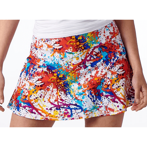 The Paint Splatter Skort