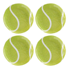 Tennis Ball Melamine Plates