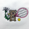 Baby Bear Tennis Towel