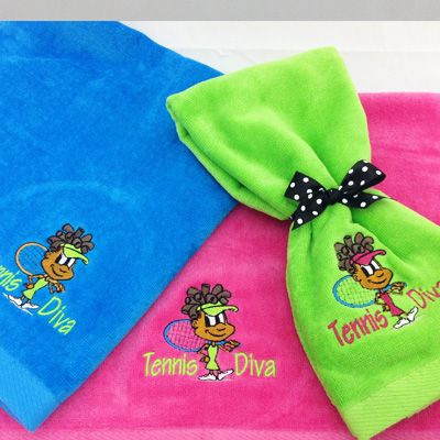 Tennis Diva Towel