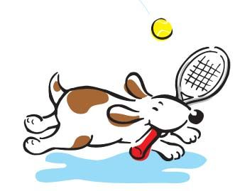 Note cards-Dog N Racquet