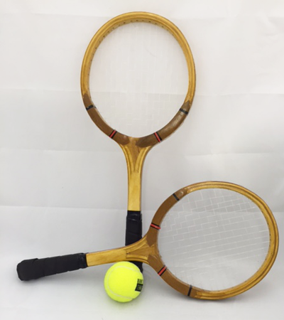 Mini Wooden Tennis Racquet