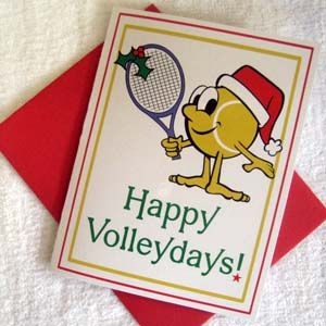 Happy Volleydays Cards