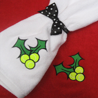 Tennis Holly Towel