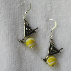 Tennis Tini Earrings