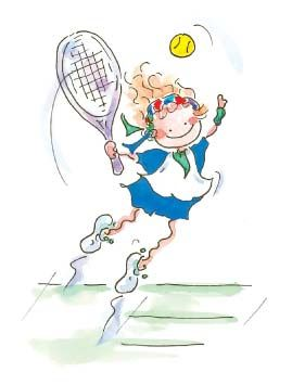 Note cards- Tennis Girl