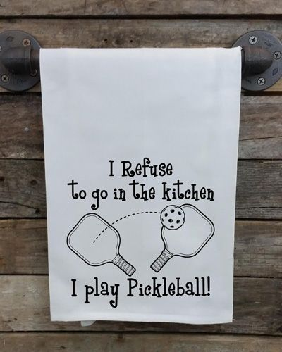 Pickleball Kitchen Towel