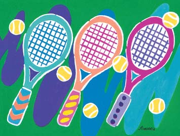 Three Little Racquets - Tennis Notes