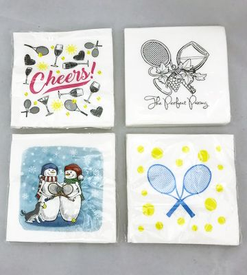 Cute Tennis Cocktail Napkins