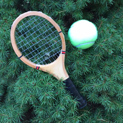 Mini Racquet Ornament