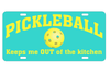 Pickleball Car Tags