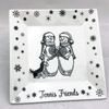 Tennis Friends Cookie Plate