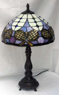 Tennis Tiffany Style Lamp
