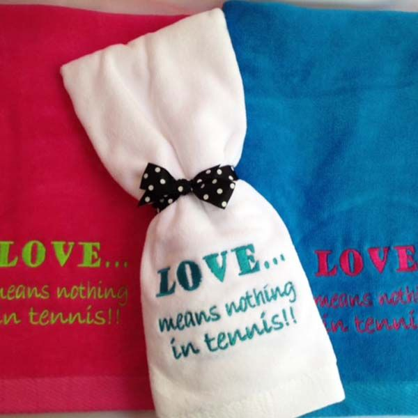 Love Means Nothing Tennis Towel