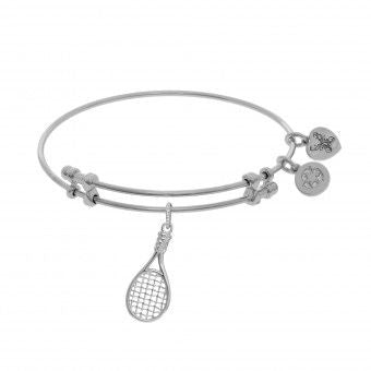 Tennis Racquet Bangle Bracelet
