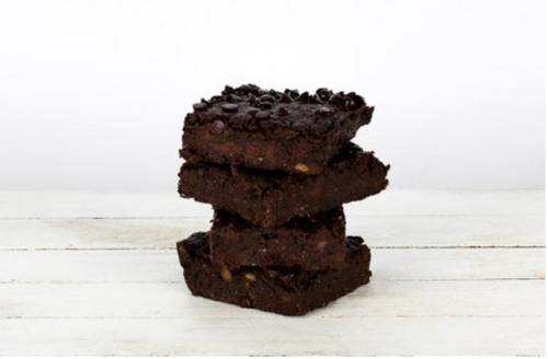 Double Chocolate Brownies, 4-pack