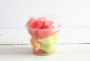Organic Minted Melon Cup
