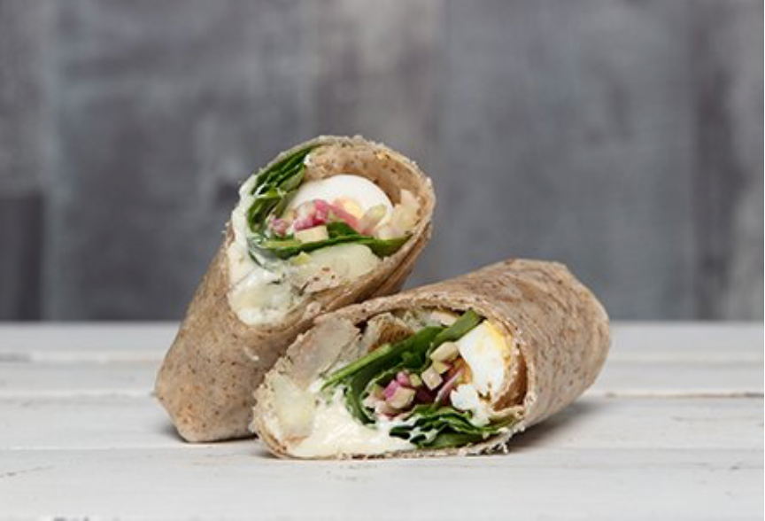 Organic Egg Salad Wrap