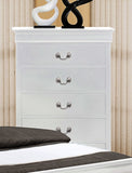 CA Munro Louis Phillip Nightstand (White)