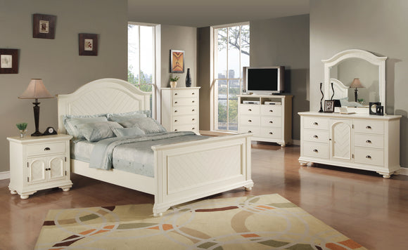 CA Munro Brooks (White) Dresser