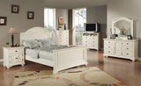 CA Munro Brooks (White) 6PC Full Bedroom