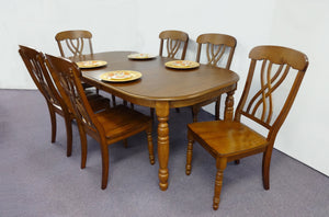 CA Munro HM3898O Extension 7pc Dining Set