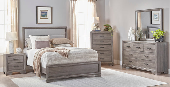 CA Munro LSC6412 6pc King Bedroom