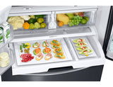 Samsung French Door Fridge w/ Twin Cooling Plus, 24.6 Cu. Ft