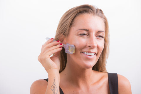 how do you clean derma rollers
