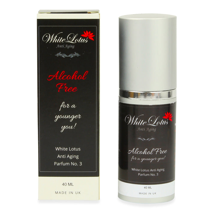Alcohol free Perfume No.3 for younger skin with Pure Attar Oils, Hypoallergenic