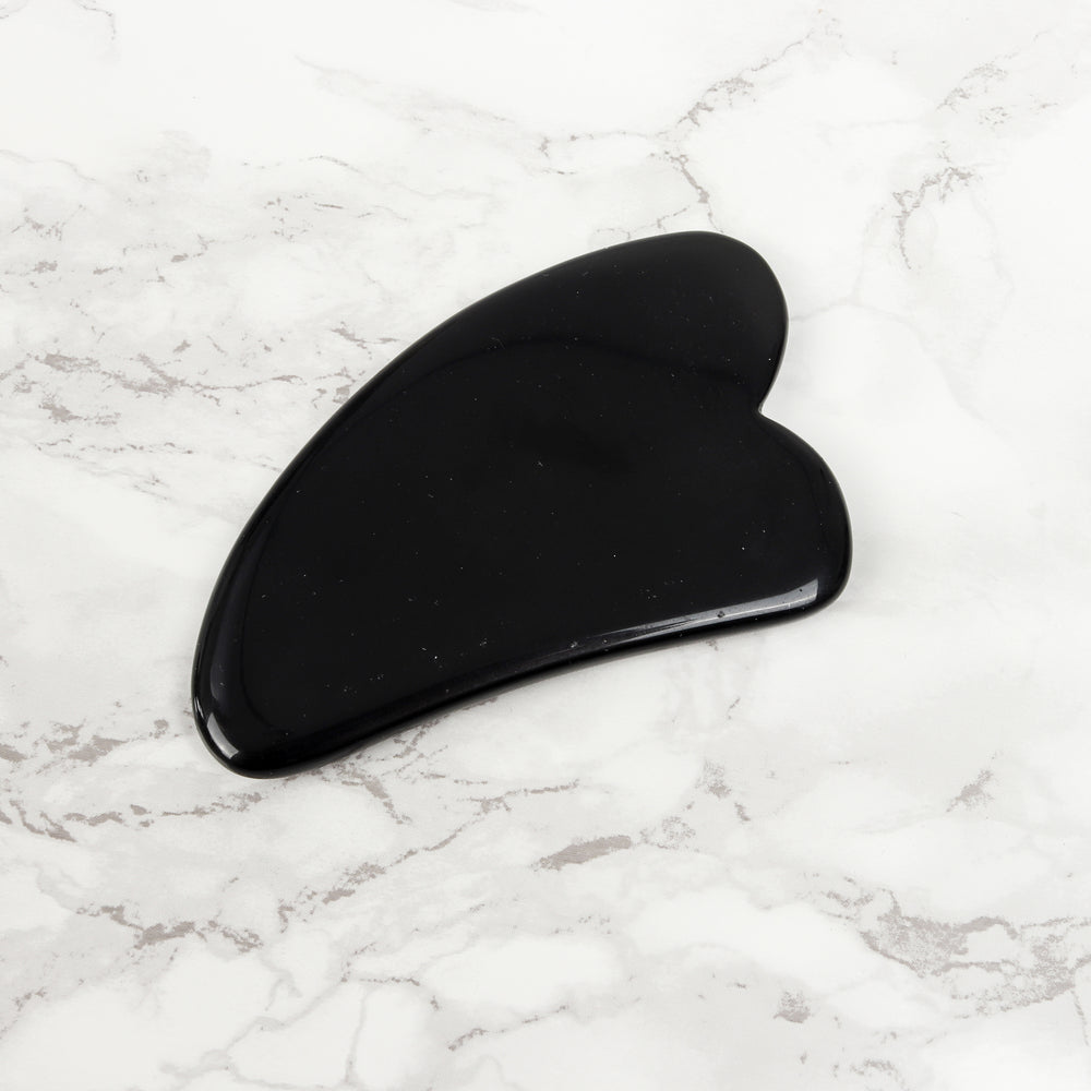 Tourmaline Gua Sha - Natural Chemical Free Crystal in Signature Silk Lined Box