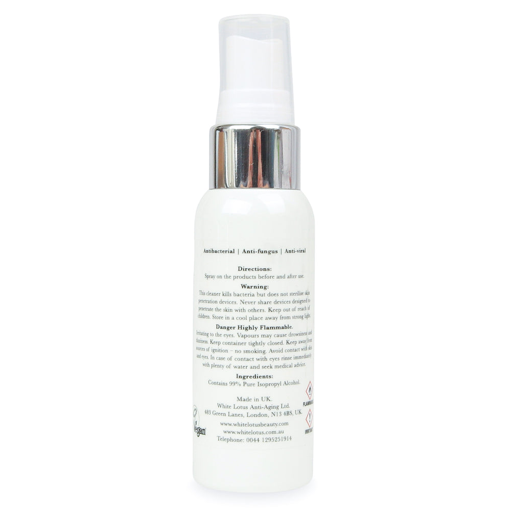 Beauty Tool Cleaner Antibakterielles Isopropylalkohol-Spray 50ml
